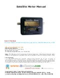Satellite signal strength meter www.onlineTPS.com