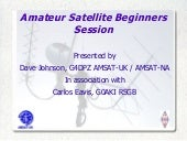 Amateur Satelllite Beginners