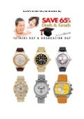 Save 65% on father's day and graduation day