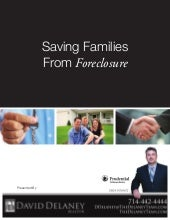 Saving Family's From Foreclosure