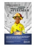 Savings Bond Fireman Dream Tax Time Poster