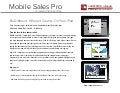 Savo Mobile Sales Pro - Corporate Visions Edition
