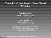 Trustlet, Open Research on Trust Me...