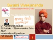 Swami vivekananda life and work