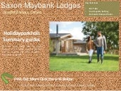 Saxon Maybank Lodges | Log Cabins with Hot Tubs in Dorset