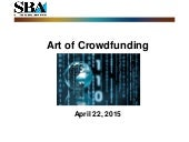 Crowdsource Noon Knowledge SBA Session, April 22, 2015