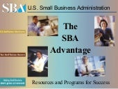 SBA general presentation, Sept 2012