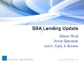 SBA lending update lerch early 04 0...