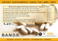 Dietary Supplements: Check The Label First