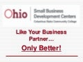 The Ohio SBDC at Columbus State