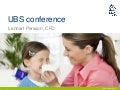 SCA presentation at UBS European Conference 2011