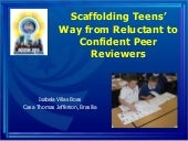 Scaffolding teens' way from relucta...