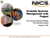 Scalable systems management with pu...