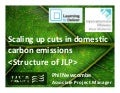 Scaling up cuts in Domestic Carbon Emissions Session III 26th November 2009