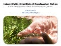Latent extinction risk of freshwater fishes