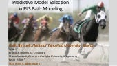Predictive Model Selection in PLS-PM (SCECR 2015)