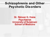 Schizophrenia & other psychotic dis...