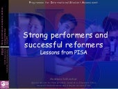 Lessons from PISA: Strong Preformer...
