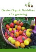 Guidelines for Organic Gardening