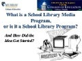 What is a school library media program, or is it a school library program?