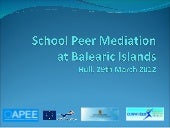 School peer mediation
