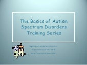 School training module one, autism ...