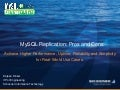 20 Real-World Use Cases to help pick a better MySQL Replication scheme (2012)