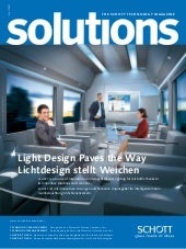 SCHOTT solutions magazine June 2011