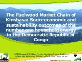 The Fuelwood Market Chain of Kinsha...