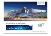 Scia Engineer Eurocodes