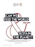 Can We Feed The World? - Scientific American Article - Jonathan Foley