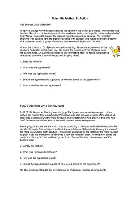 Worksheets Scientific Method Worksheet Answers scientific method variables worksheet