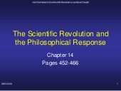 Scientific Revolution Unit 3 Topic ...