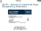 Scjp Jug Section 2 Flow Control