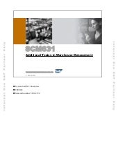 Scm631+ +additional+topics+in+wareh...
