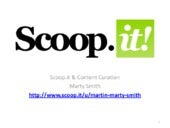 Scoopit and Content Marketing Analysis