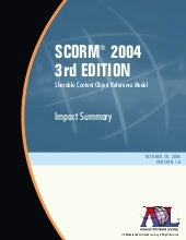 Scorm.2004.3 Ed.Impacts Summary