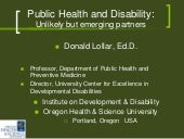 Disability and Public Health Emergi...
