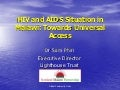 Dr Sam Phiri: HIV and AIDS Situation in Malawi