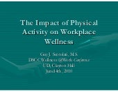 Guy Scotolati, Wellness at Work Con...