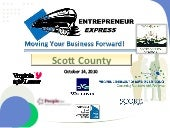 Scott Entrepreneur Express, October...