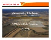 Frier - Concentrating Solar Power
