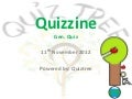 Quizzine- Screening