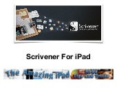Scrivener for iPad - Writer and Aut...