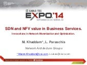 SDN and NFV Value in Business Services - A Presentation By Cox Communications