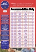 Hotel Availability Offers 8th Feb - 8th Mar 2010 arrivals