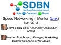 San Diego Biotechnology Network Speed Networking: Focus on Mentoring Event