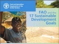 FAO and the 17 Sustainable Development Goals
