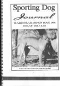 Sporting Dog Journal Yearbook 1998