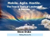 Mobile Agile Hostile:  Toys & Tools...